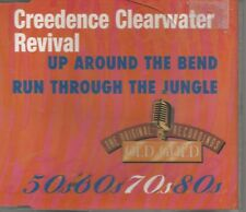 RARE CREEDENCE CLEARWATER REVIVAL CD SINGLE UP AROUND THE BEND / RUN THRU JUNGLE