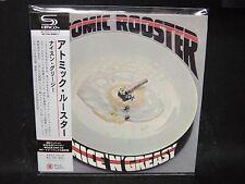 ATOMIC ROOSTER Nice 'N' Greasy + 4 JAPAN SHM Mini LP CD Arthur Brown Colosseum
