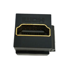 1PC HDMI Keystone Insert jack Female to Female Wall Plate Adapter Coupler Black