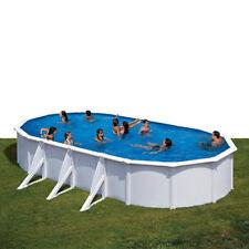 Piscina fuoriterra ovale Fidji piscina da giardino Gre 800 x 470 cm