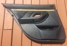 BMW E39 525i 528i 530i 540i Left Drivers Rear Door Trim Panel Pad 97-03 Black