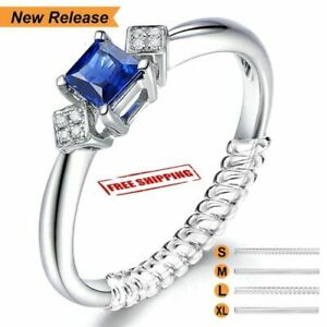 12PCS Ring Size Adjuster Invisible Clear Ring Jewelry Fit Reducer Guard New