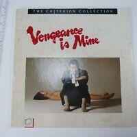 VENGEANCE IS MINE-RARE Criterion #34 LaserDisc Boxset, Shochiku Company Ltd