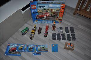 LEGO City Güterzug mit Diesellokomotive 3677 TOP