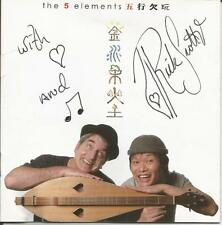 Rick Scott  The 5 Elements CD 2005 Kayako Music  Signed Autographed