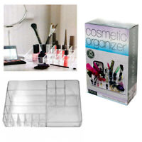 Cosmetic Organizer Clear Large Case Storage Jewelry Makeup Holder Box Vanity