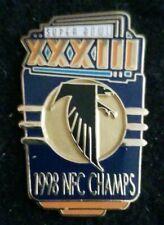 Nfl 1998 Super Bowl Xxxiii Nfc Champs Atlanta Falcons Collectible Psg Pin