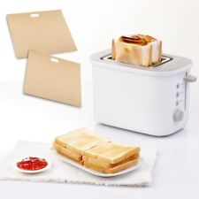 Pro Reusable Nonstick Toaster Bag for Grilled Cheese Sandwiches Bread Bag #4V