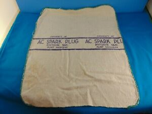 AC Flint Michigan Vintage Plant Shop Rag GM Genuine Oldie