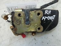 Dodge Caravan Door Latch Right Pass. FRONT Side power lock 01 02 03 04 05 06