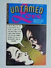 Frank Frazetta's Untamed Love No. 1  1987 Fantagraphics Books 1st Print NM (9.4)