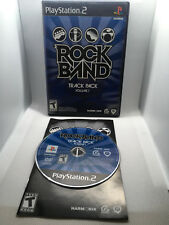 Rockband Track Pack Volume 1 - Complete CIB - Tested & Works - Playstation 2 PS2