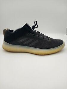 Adidas Pureboost Art D83389 Men Size 11 Black/Gray Casual Trainer Oxford Sneaker