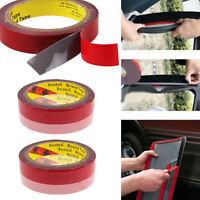 1 Roll 3M Waterproof Double Sided Tape Foam Rubber Automotive Attachment Tape