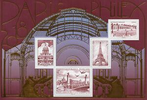 France 2018 MNH Salon Paris Philex Eiffel Tower Versailles 4v M/S Bridges Stamps