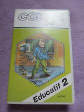 Jeu Amstrad CPC 464 - EDUCATIF 2 - Cobrasoft