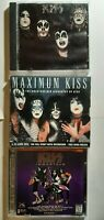 Lot of 3 RARE KISS MEDIA Lot See Description & Pictures!! FREE SHIPPING