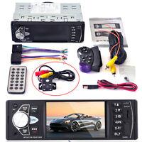 4.1''  FM/USB Car Radio Stereo MP3/MP5 Player Bluetooth Rear camera hands-free