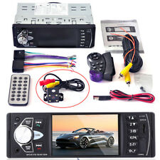 4.1''  FM/USB Car Radio Stereo MP3/MP5 Player Bluetooth Rear camera hands-free
