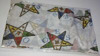 Order of the Eastern Star OES Extra Large Scarf- New!