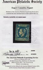 Romania Scott #45 , Counterfeit APS Certificate Appears Used