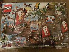 LEGO Castle Troll navire de guerre Set (7048) de nouveaux dégâts boîte très rare