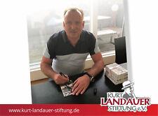 Autogrammkarte Andreas Brehme -  Kurt Landauer Stiftung - FC Bayern München
