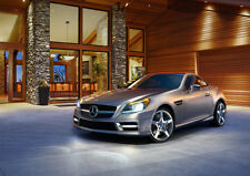 2012 SLK CLASS ROADSTER NEW A3 CANVAS GICLEE ART PRINT POSTER