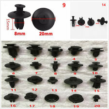 100X Mixed Car Dashboard Audio CD Center Console Panel Fastener Screw Rivet Clip