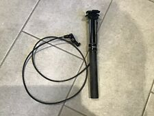 Rock Shox Reverb dropper seat post, 100mm drop, 30.9mm dia, external hose.