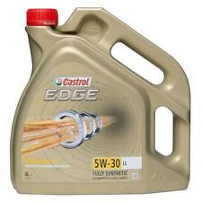 4L Engine Oil 4 Litres 5W30 Fully Synthetic Titanium FST - Castrol Edge Longlife