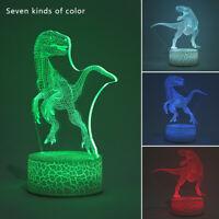 Cadeau noël décor table lampe  3D à télécommande tactile contrôle LED lumineuse