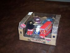 DISNEY STORE EXCLUSIVE -  LONDON CALLING 5 CAR SET WITH TOPPER HIGHGEAR - NEW