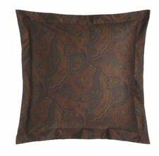 Ralph Lauren Euro Paisley Pillow Sham Frazier/ Olive 100% Cotton Msrp $130