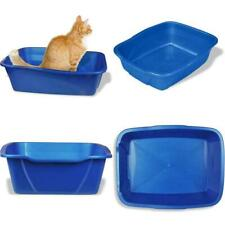 New listing Cat Litter Box Giant Pan Pet Animal Jumbo Standard Litter Box Odor Stain Resist