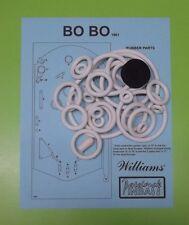 1961 Williams Bo Bo pinball rubber ring kit
