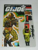 1989 GI Joe Cobra Python Patrol Copperhead v2 Figure Complete w/ File Card Back