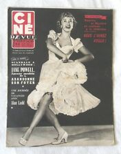 CINE-REVUE 17 juillet 1953 JANE POWELL ESTHER WILLIAMS ROCK HUDSON ALAN LADD