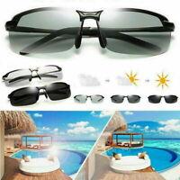 Men's Photochromic Sunglasses with Polarized Lens 100% UV For Outdoor Sports h