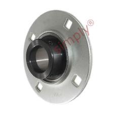 SAPF208 Round 4 Bolt Pressed Steel Bearing Housing - 40mm Collar Insert
