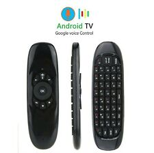 Voice Remote Google Control Air Mouse Keyboard for PC Android Smart TV Kodi Box