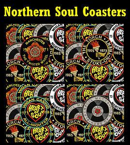 Northern Soul (Parches) - Conjunto De Diversión Novedad Coasters - Gifts /