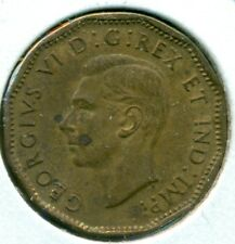 1943 TOMBAC CANADA FIVE CENTS, ALMOST UNCIRCULATED, GREAT PRICE!