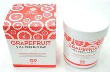 grafefruit peeling pad 100 sheet aha bha pha cleansing tissue skin care shop