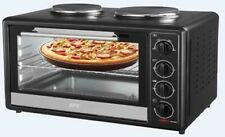 AFK Mini forno BO-35RH con 2 Piano cottura 1700W 35 Litro Spiedo rotante pizza