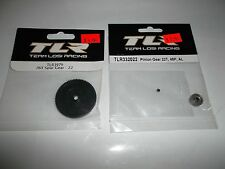 Team Losi Racing Kevlar Spur Gear 76 Tooth Aluminum Pinion Gear 22 Tooth 48pitch