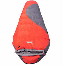 Cold Weather -10 Outdoor Camping Mummy Sleeping Bag Hiking Thicken Warm Comfort