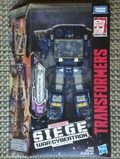 Transformers Soundwave action figure Siege War for Cybertron Deluxe series NIB