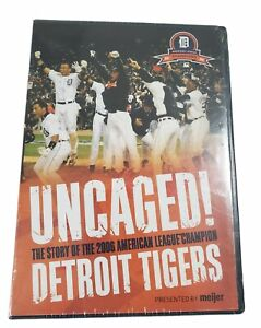 Uncaged! Story Of 2006 Detroit Tigers DVD Meijer's Exclusive - Brand New