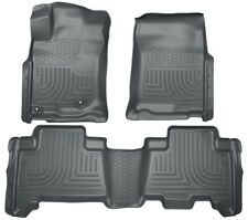 2010-2012 Toyota 4Runner Husky WeatherBeater Combo Black Floor Liners Free Ship